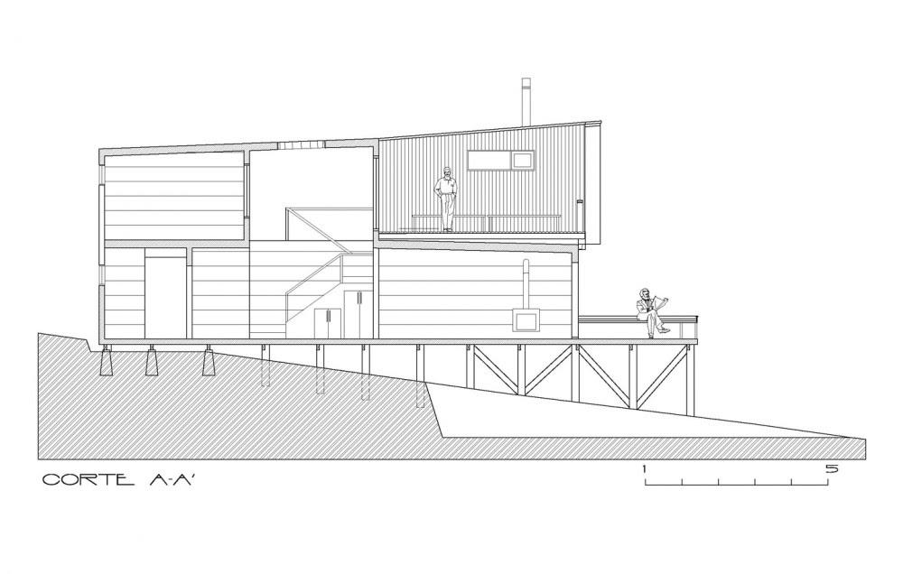Casa Maintencillo - Jonas Retamal, Arquitectura, casas, diseño