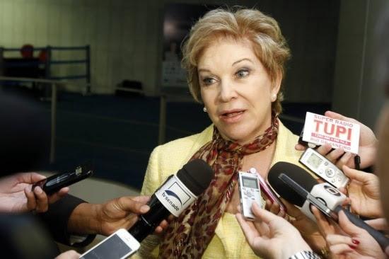 Senadora Marta Suplicy (PT-SP)