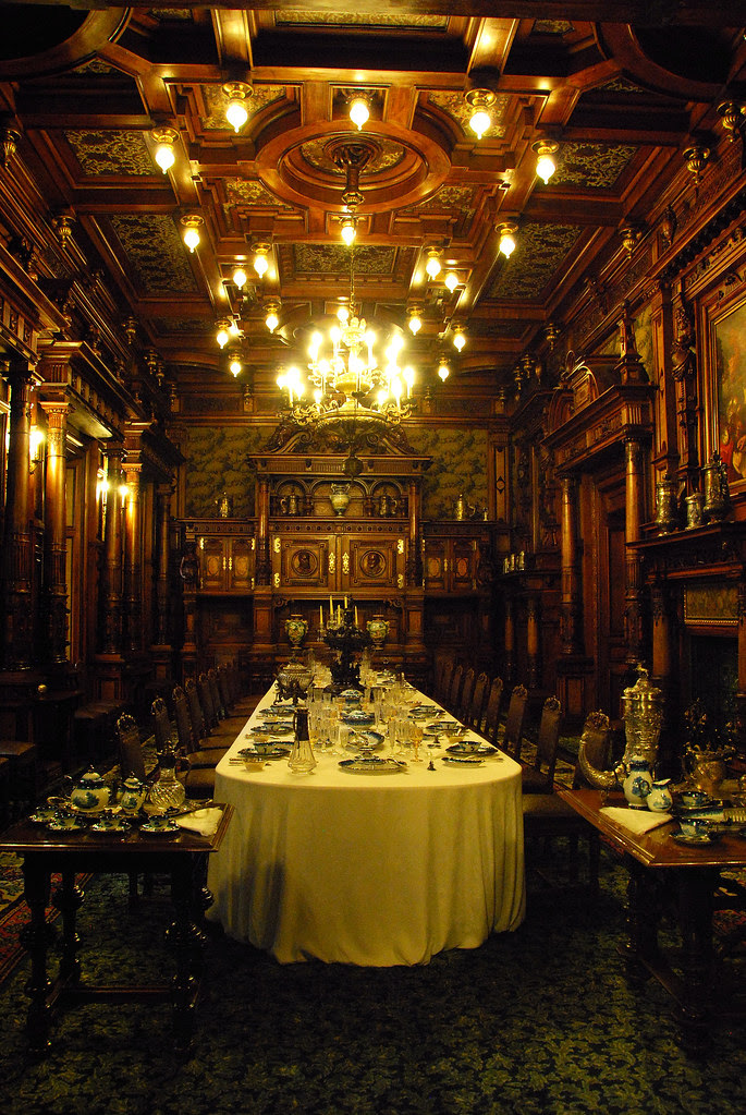 3 Romanian Castles You Must Visit At Least Once In Your Lifetime. Peles Castle dining room