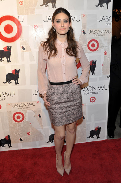 Emmy Rossum - Jason Wu For Target Launch