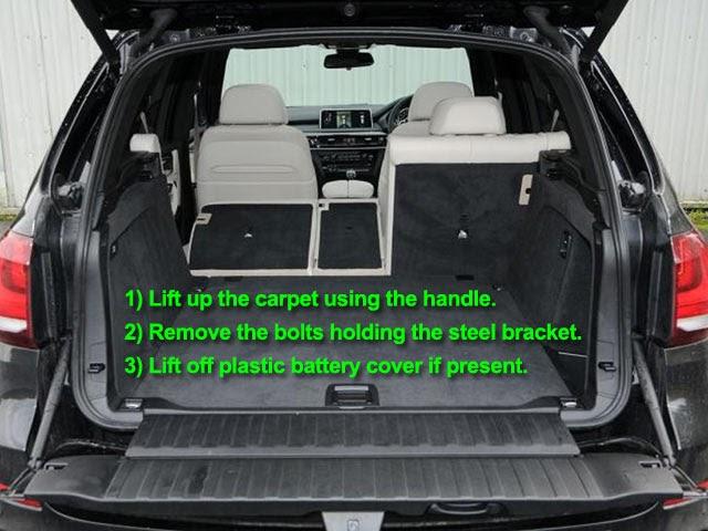 Bmw X5 F15 Battery Location Car View Specs