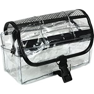 Amazon.com: Vinyl Clear Travel BAG Cosmetic Carry Case Toiletry