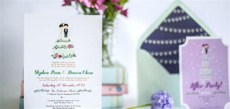 9 Creative Wedding Invitation Suite Designers in Singapore