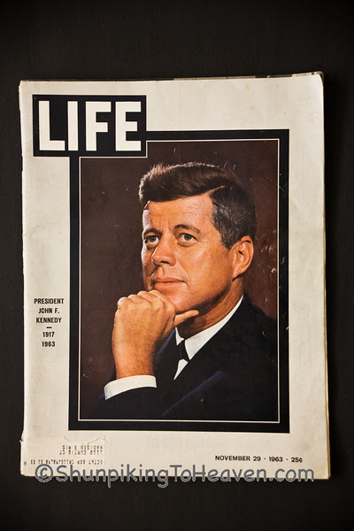 Life Magazine Featuring John F. Kennedy, 1917 – 1963