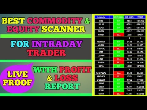 best commodity and equity intraday scanner| ऐसा स्कैनर जो करा सकता है आप...