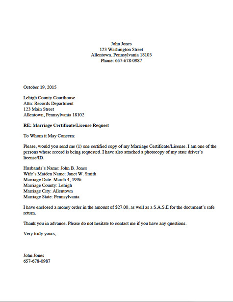 Download Sample Letter Requesting Certificate Of Insurance From Vendors Background