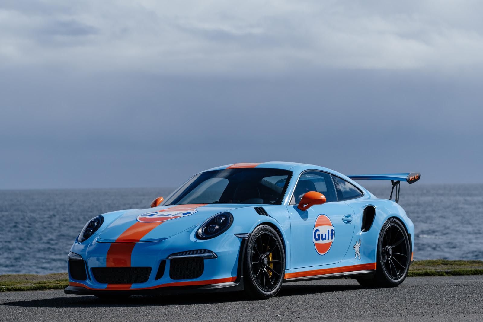 2016 Porsche 911 Gt3 Rs Gulf Livery Silver Arrow Cars Ltd
