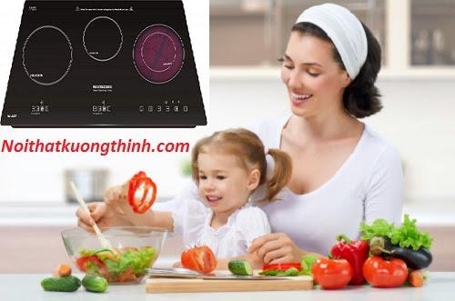Bếp điện từ Mastercook chất lượng tốt, tiện dụng cho nhà bếp