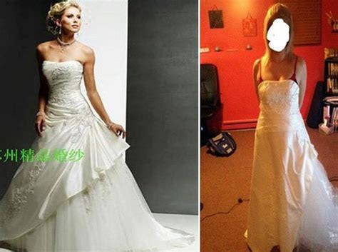 This is why you shouldn't buy a cheap knock off wedding