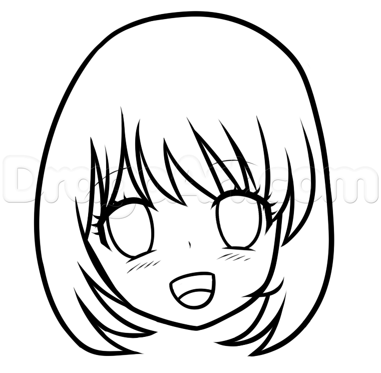 Anime Drawings For Beginners | Free download on ClipArtMag