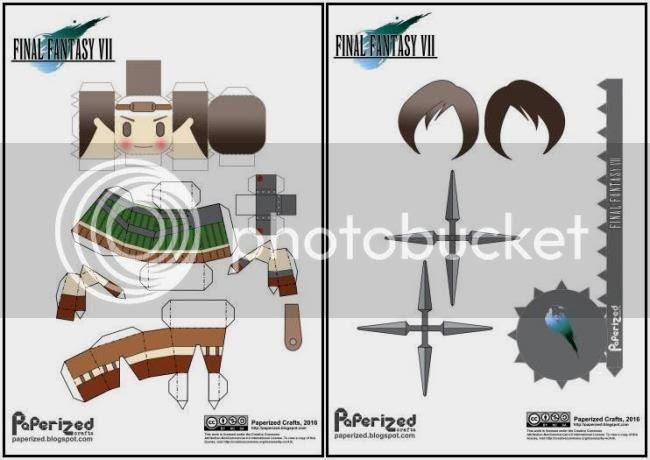 photo Final Fantasy VII - Yuffie Paperized via papermau -2_zpsbok3e0nb.jpg