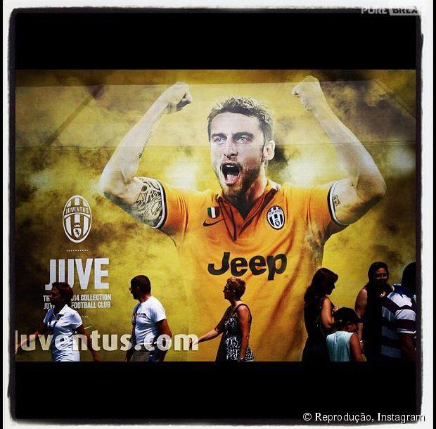 Claudio Marchisio é jogador da Itália