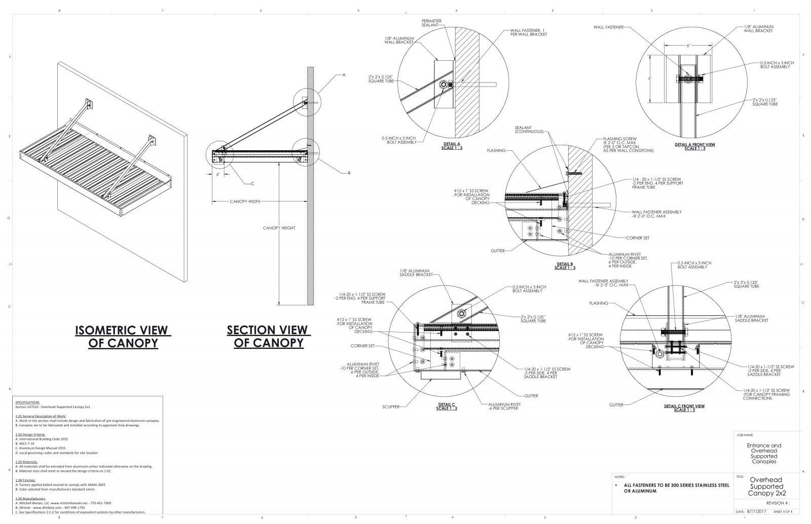 Gambar Kanopi Dwg Desain Rumah