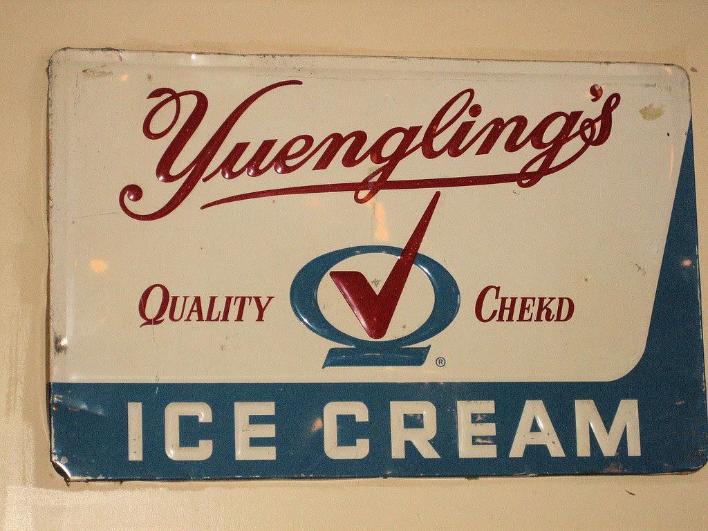 Yuengling ice cream