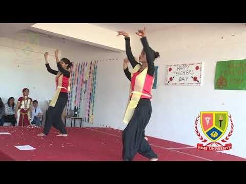 Semi Classical Dance Performance : O Ri Chiraiya | Teachers Day | Nims University