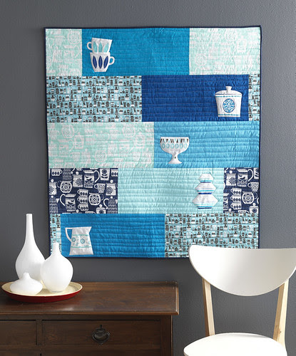 China Cupboard Wall Quilt
