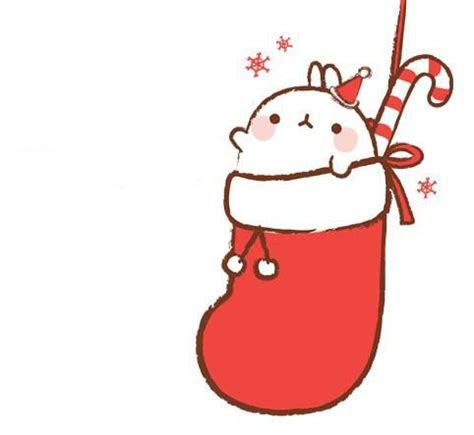 merry christmas molang molang kawaii drawings