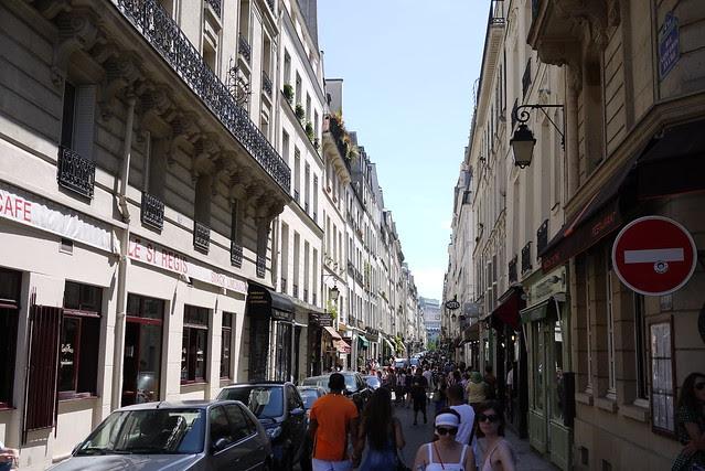 Rue Saint Louis en l'ile