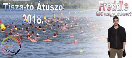 Tisza-tó átúszó 2018