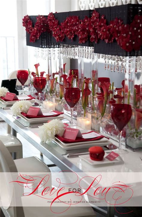 Best 25  Red Table Settings ideas only on Pinterest   Red