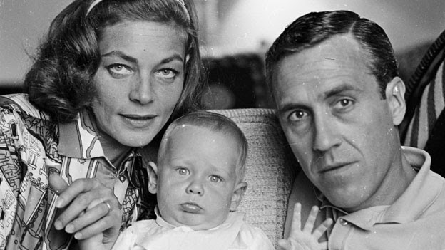 Lauren Bacall with Jason Robards