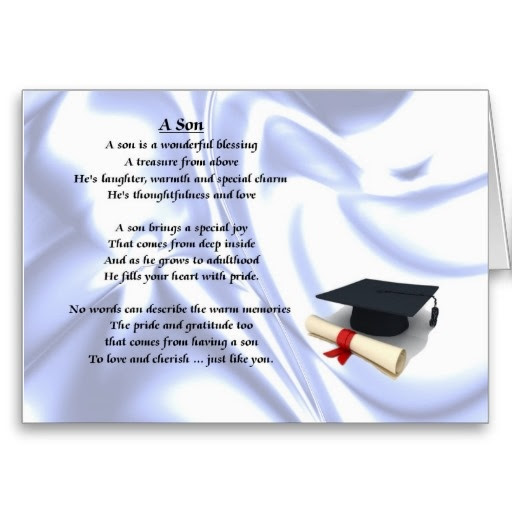 Son Graduation Quotes From Mother Quotes