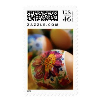 Easter Eggs - Postage zazzle_stamp