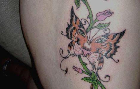 Tiger Butterfly Tattoos Designs Tattoos Designs Ideas