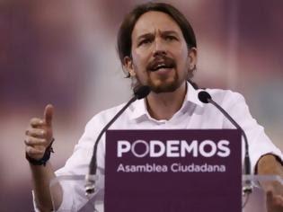Φωτογραφία για Δείτε τι έγινε όταν ο  Pablo Iglesias μιλάει ελληνικά στη μεγάλη συγκέντρωση της Μαδρίτης... [video]