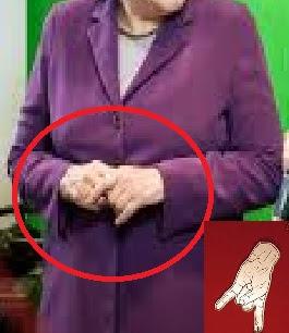 Merkel Devil Sign