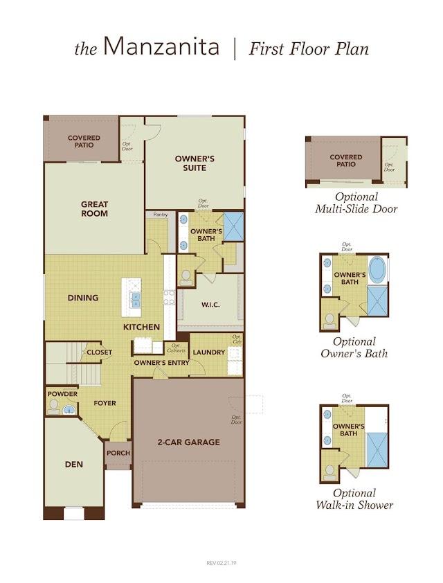 Scott Homes Floor Plans In Marley Park : Cassandra floor plan at Marley Park   Richmond American Homes