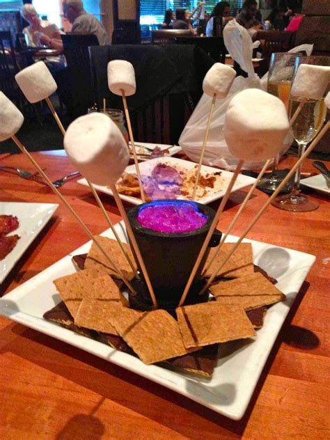 Campfire S'Mores   centerpieces or outside endeavour