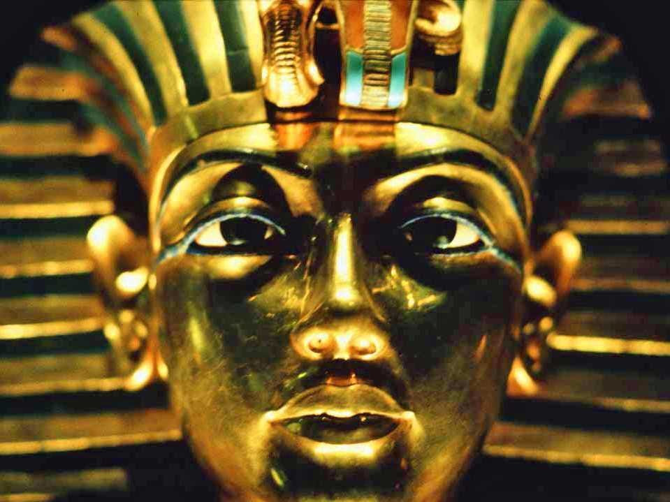 king tut gold ancient egypt