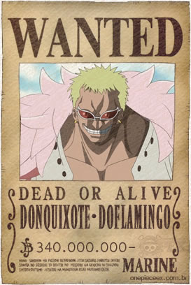 Doflamingo Wanted
