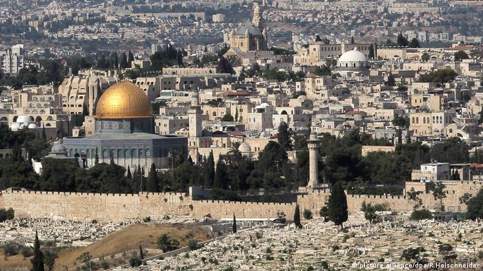 Israel   Palästina Jerusalem - Felsendom