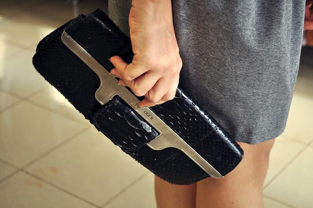 Tufi Duek clutch bag