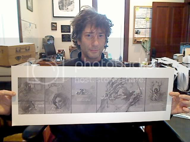 Jim Lee Neil Gaiman neverwear