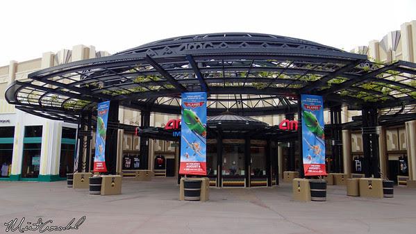 Disneyland Resort, Downtown Disney, AMC theater, Planes