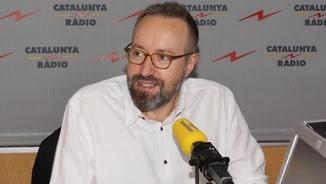Juan Carlos Girauta als estudis de Catalunya Ràdio