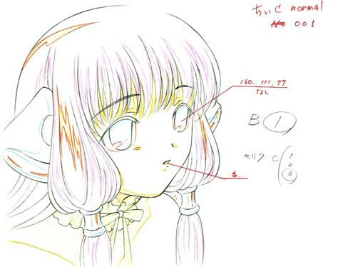 colors  anime production drawings