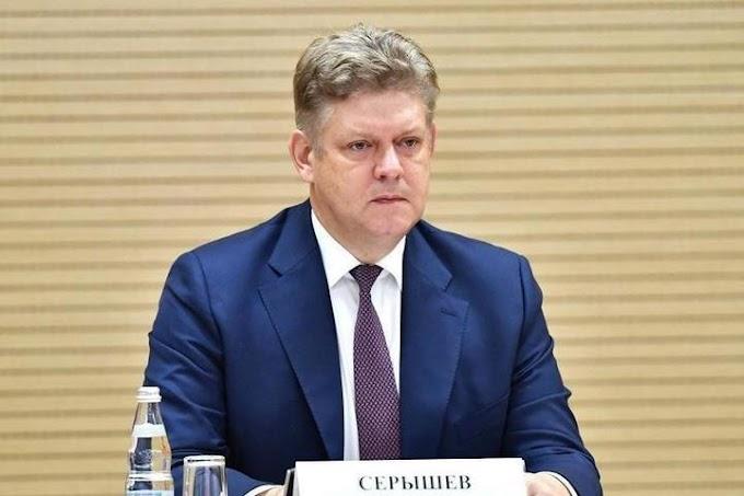 Новый полпред президента в СФО Анатолий Серышев впервые прилетел в Новосибирск