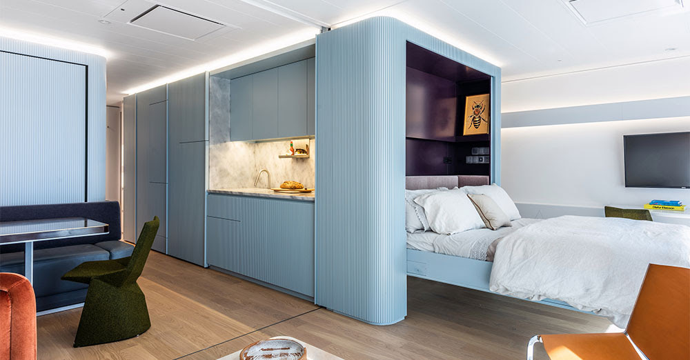 Pied-à-Mer - Apartment at Sea by Michael K. Chen Architecture