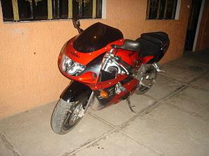 Moto de Carreras