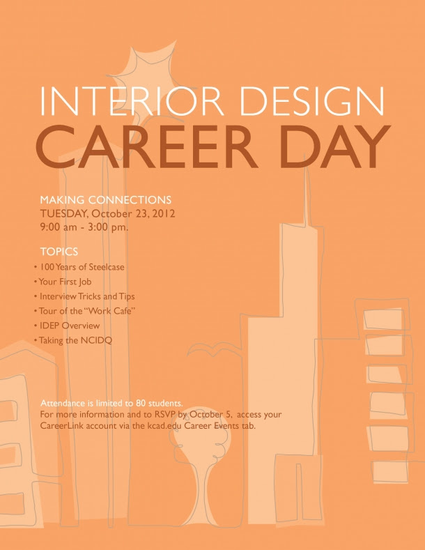 Interior Design Career Day 2012 | Kendall College of Art and