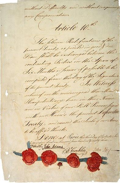 File:Treaty of Paris 1783 - last page (hi-res).jpg