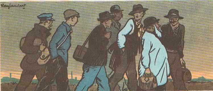 Le retour des ouvriers