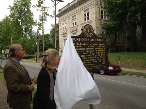 Hunt Morgan House Historic Marker Unveiling - Lexington, Ky.