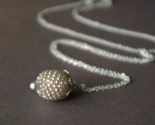 Petal Dot Necklace - champagne