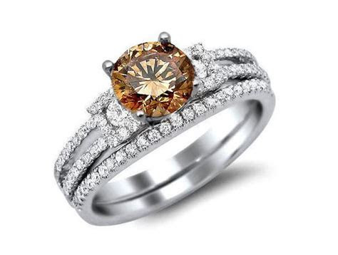 Brown Diamond Engagement Ring Pictures [Slideshow]
