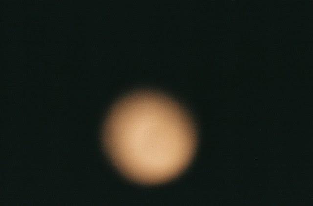The moon.  Honest.